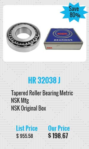 NSK Tapered Roller Bearing Metric
