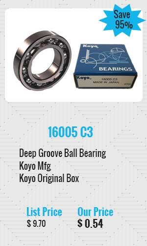 Koyo Deep Groove Ball Bearing