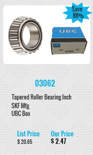 SKF Tapered Roller Bearing Inch