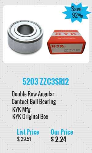 KYK Angular Contact Ball Bearing